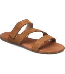 biabrooke strap sandal shoes summer shoes flat sandals brun bianco
