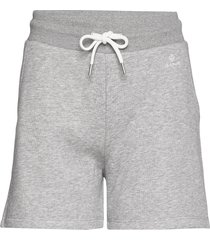 d1. gant lock up sweat shorts shorts flowy shorts/casual shorts grå gant