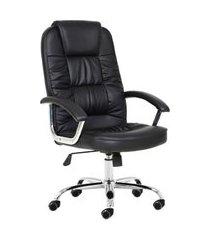 cadeira de escritório presidente denmark preta