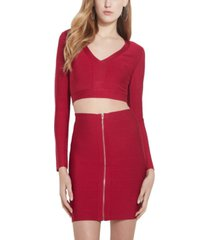 guess cruz bandage back-cutout top