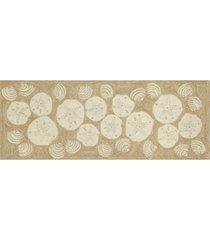 liora manne frontporch shell toss 2' x 5' runner rug