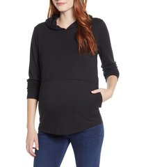 women's angel maternity maternity/nursing hoodie