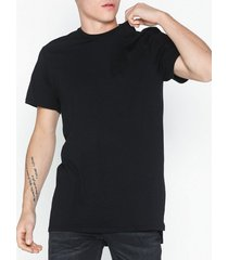 topman longline t-shirt t-shirts & linnen black