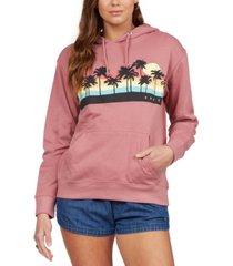 roxy juniors' palmy rainbow hoodie