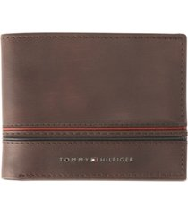 tommy hilfiger men's rfid slimfold wallet