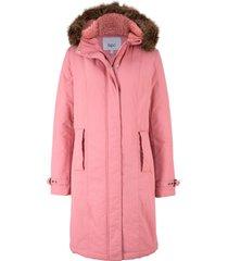 parka lungo con cappuccio (rosa) - bpc bonprix collection