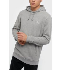 adidas originals essential hoody tröjor grå