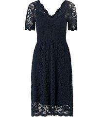 spetsklänning objrosa s/s dress 108