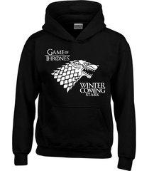buzo chaqueta game of thrones casa stark