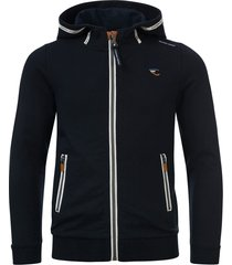common heroes navy sweat vest met hood voor jongens in de kleur