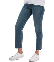 womens wedgie straight love triangle jeans