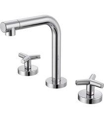 misturador para banheiro mesa triplus cromado - 00872206 - docol - docol