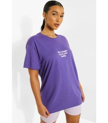 oversized katoenen magic t-shirt, lilac
