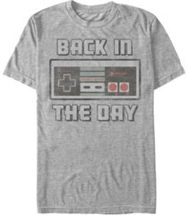 nintendo men's nes controller back in the day short sleeve t-shirt
