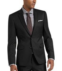 joe joseph abboud black extreme slim fit suit