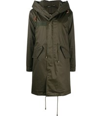 classic jazzy parka for woman