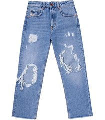 'aryel-j' jeans with holes
