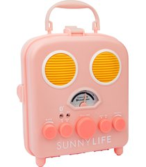 sunnylife beach sounds bluetooth speaker, size one size - pink