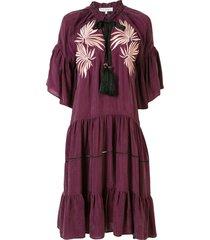lug von siga vicky tassel dress - purple