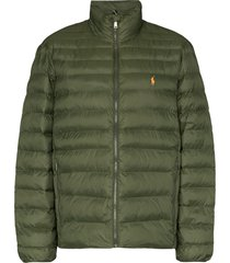 polo ralph lauren ultralight quilted recycled polyester jacket - green