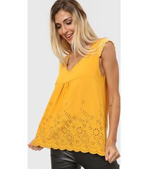 blusa amarilla nano luz