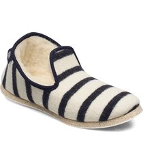 chaussons rayés ''''maoutig'''' loafers låga skor vit armor lux