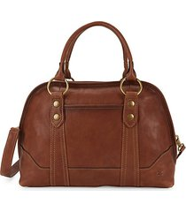lucy leather satchel