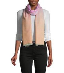 ombré wool & cashmere-blend scarf