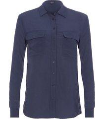 camisa feminina lucia netuno - azul