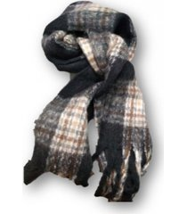 bufanda negra trendy polar hombre