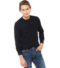 sweater alden azul selected - calce regular