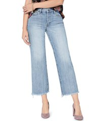women's sam edelman the chelsea crop wide leg jeans