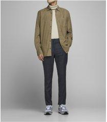 jack & jones men's corduroy long sleeve essential shirt