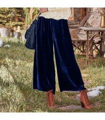 willow velvet pants