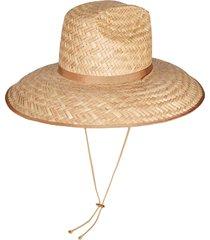 gucci wide brim hat - neutrals