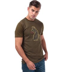 mens spliono tone 3d lion t-shirt