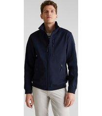 chaqueta con capucha azul marino esprit