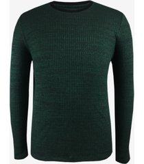 alfani men's space-dye crewneck pullover, created for macy's