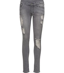 slim freedom grey skinny jeans grå cheap monday