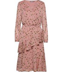 bxinki dress - knälång klänning rosa b.young