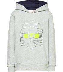 lwsam 106 - sweatshirt hoodie grå lego wear