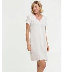 camisola estampa bolinhas manga curta marisa - 10037902827 feminina