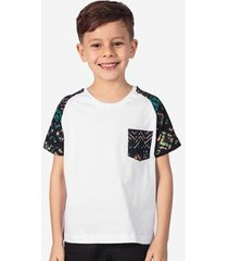 camiseta hermoso compadre raglan étnica niños masculina