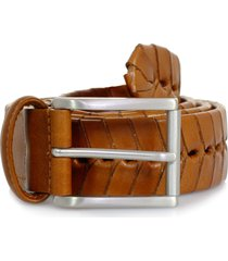 andersons stitched leather belt | tan | pi175 c3
