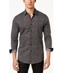 inc men's floral disty-print shirt, created for macy's