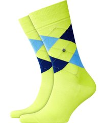 burlington socks | manchester | lime | 20182-1073