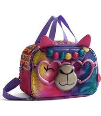 bolso fucsia back up fun zoo bags