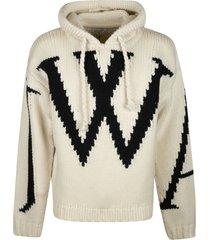 j.w. anderson chunky hoodie