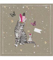 "hammond gower fancy pants cats iii canvas art - 20"" x 25"""