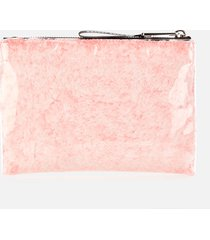 marc jacobs women's the snuggle pouch - poodle pink